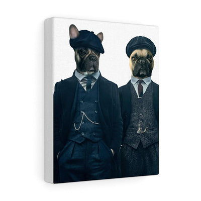 SquishyFacedCrew™ 'The Detectives' Personalised Pet Canvas Featuring Your Pet