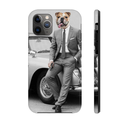 SquishyFacedCrew™ 'James BARK' Personalised Pet Phone Case