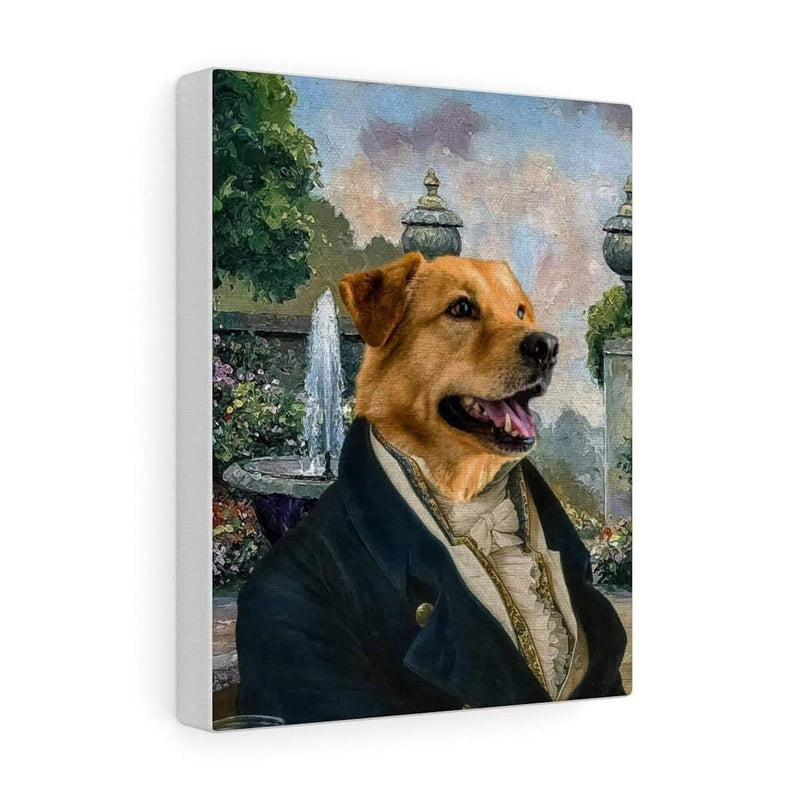 SquishyFacedCrew™ Renaissance 'The Prince' Personalised Canvas