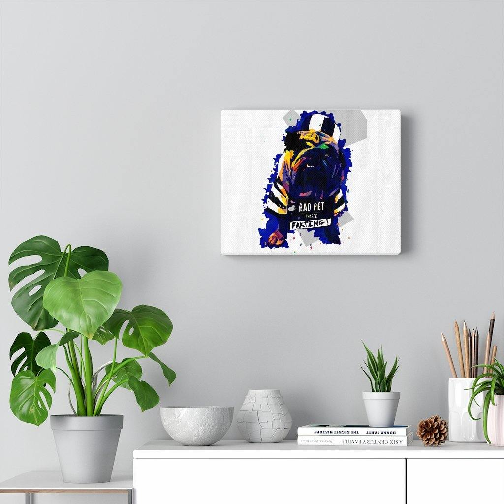 SquishyFacedCrew™ Personalised Pet Pop Art Canvas