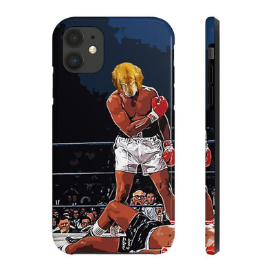 SquishyFacedCrew™ Personalised 'THE HEAVYWEIGHT CHAMPION' Phone Case