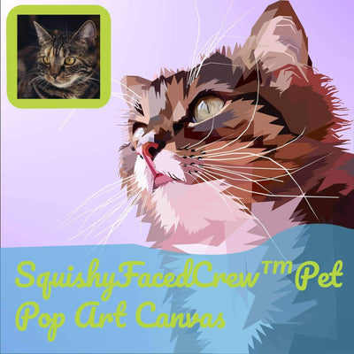 SquishyFacedCrew™ Pet Pop Art Canvas