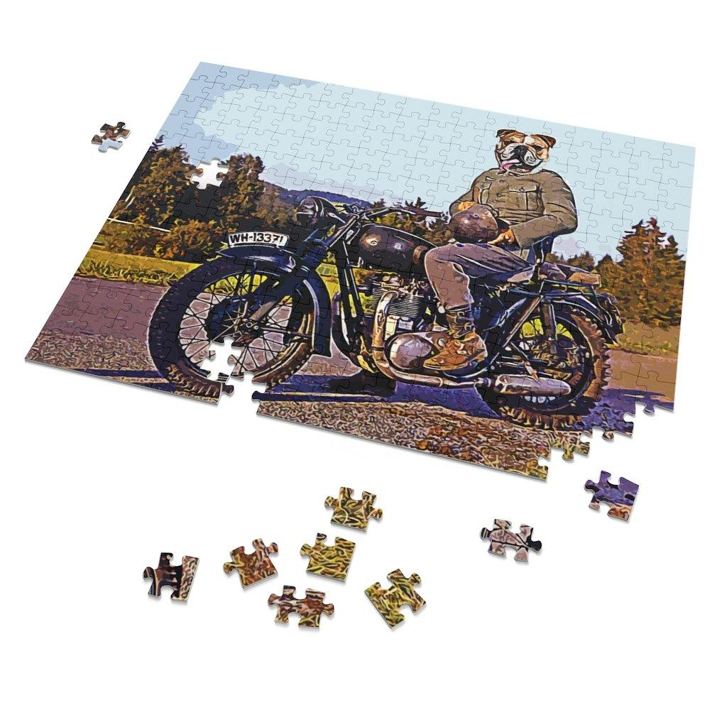 SquishyFacedCrew 'The King Of Cool' Personalised 252 Piece Puzzle