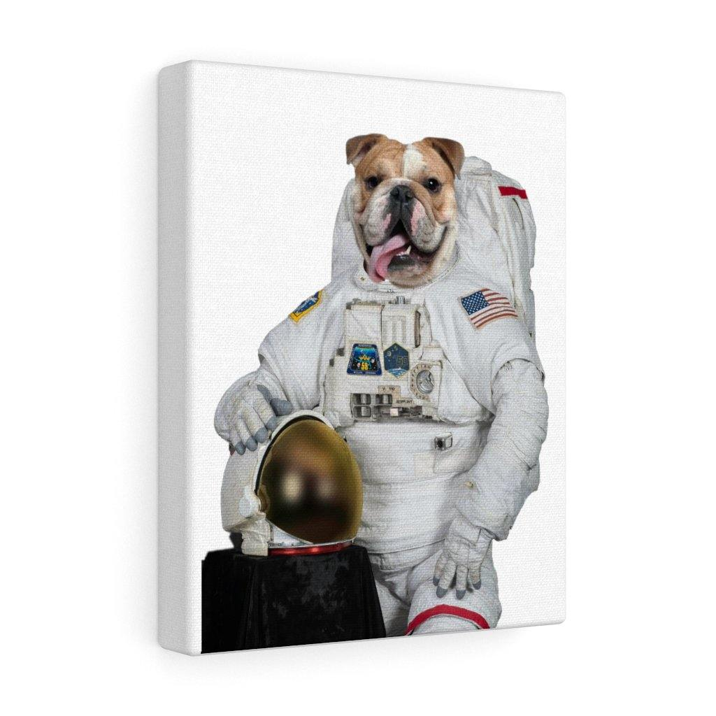 SquishyFacedCrew™ 'The Astronaut' Custom Pet Canvas