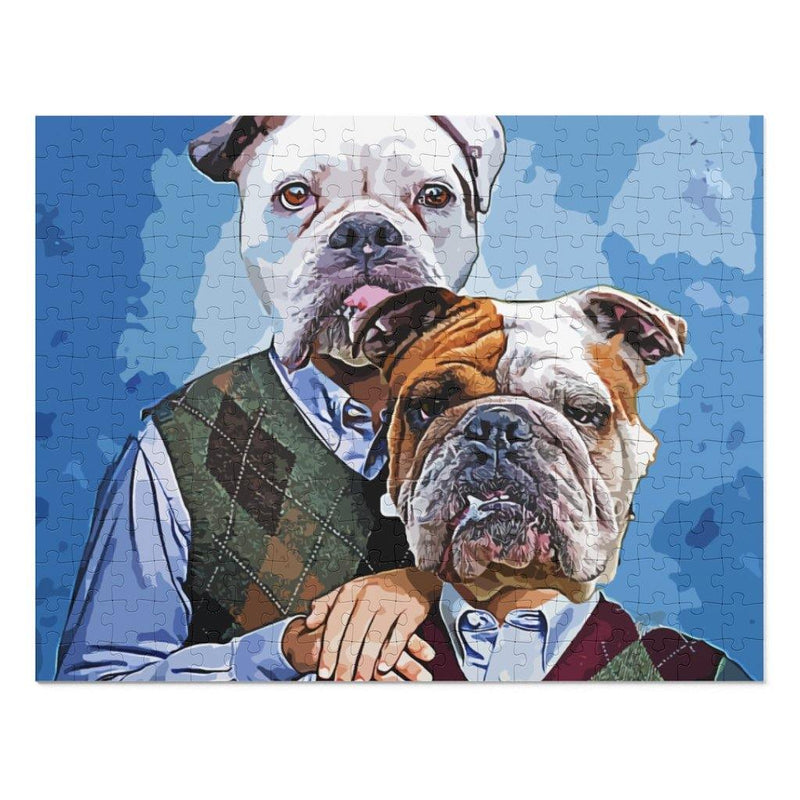 SquishyFacedCrew 'The Awkward Step Bros' Personalised 252 Piece Puzzle