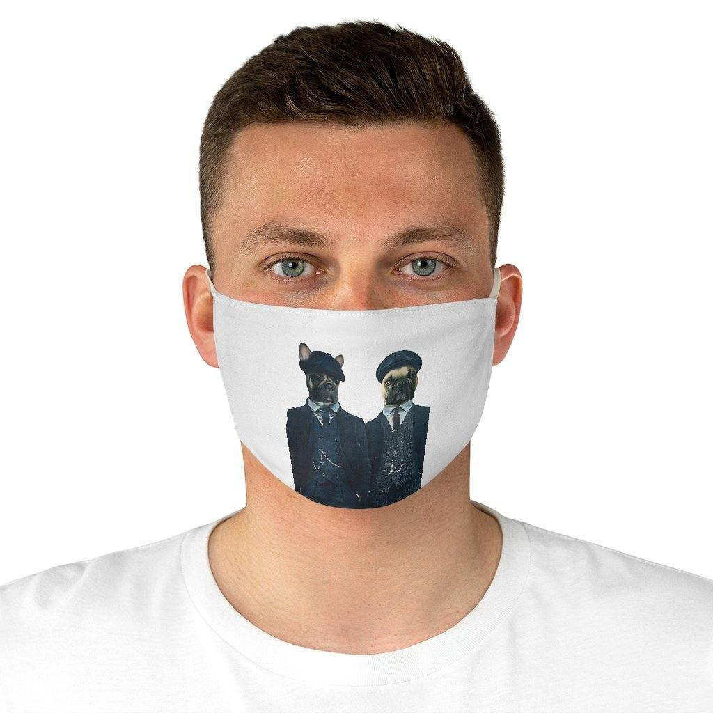 SquishyFacedCrew™ 'THE DETECTIVES' Face Mask