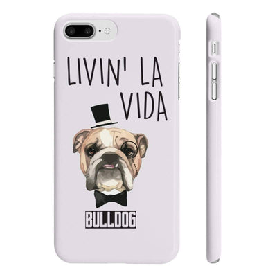 Wpaps Slim Phone Cases | Livin' La Vida Bulldog Phone Case - SquishyFacedCrew
