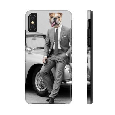 SquishyFacedCrew™ 'James BARK' Personalised Pet Phone Case - SquishyFacedCrew
