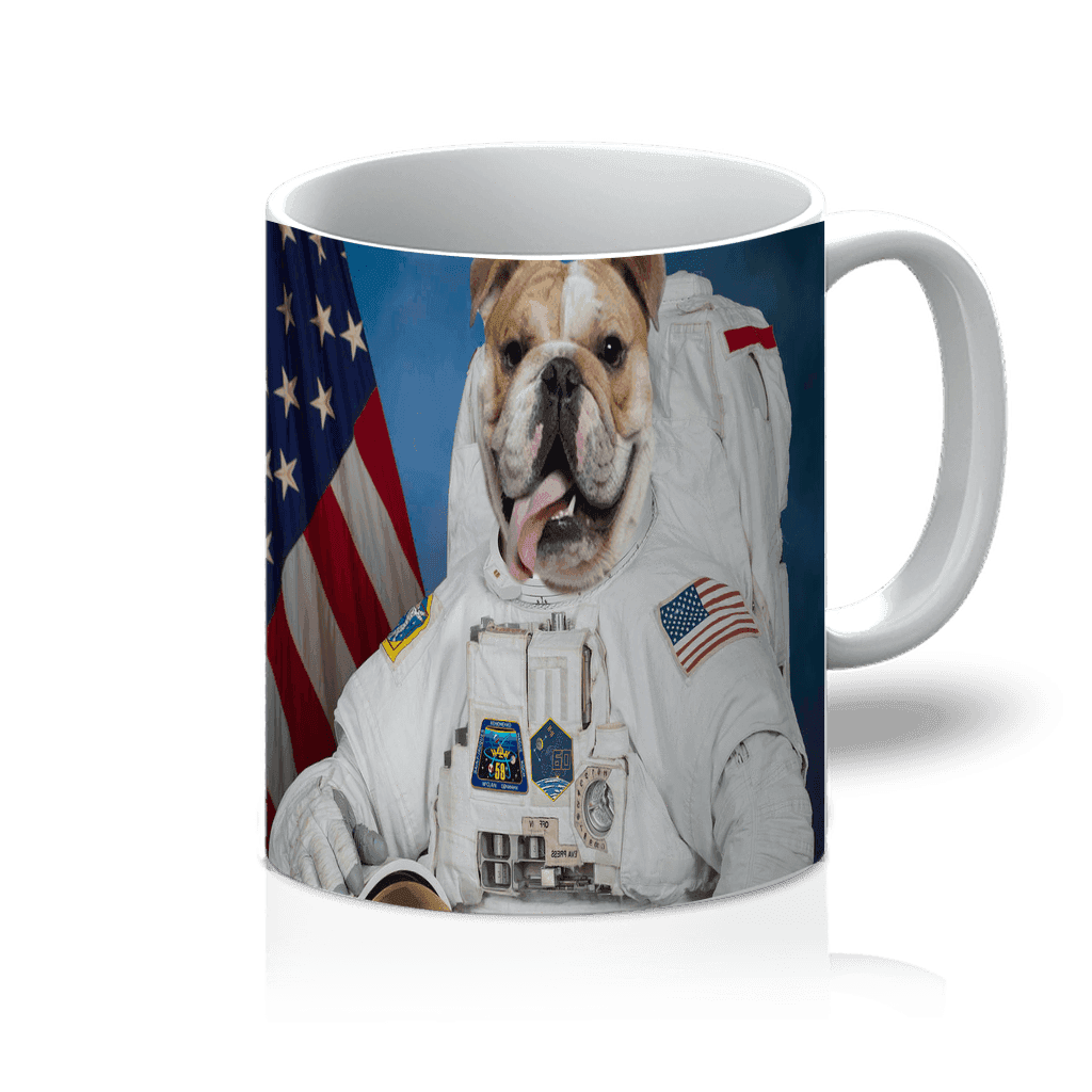 SquishyFacedCrew™ 'The Astronaut' Custom Pet Mug