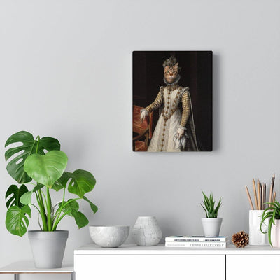 SquishyFacedCrew™ 'The Lady In Waiting' Custom Pet Canvas