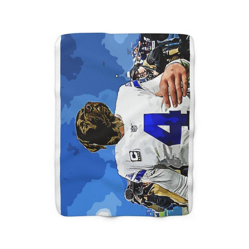 SquishyFacedCrew™ 'THE COWBOY!' Sherpa Fleece Blanket