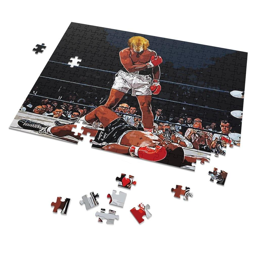SquishyFacedCrew 'The Heavyweight Champ' Personalised 252 Piece Puzzle