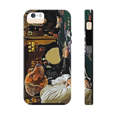 SquishyFacedCrew™ Personalised 'THE GAMBLER' Phone Case - SquishyFacedCrew