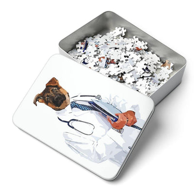 SquishyFacedCrew 'The Doctor' Personalised 252 Piece Puzzle
