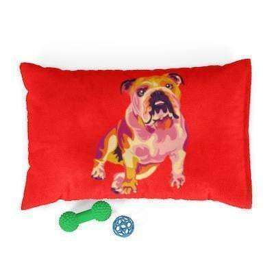 SquishyFacedCrew™ Pop Art Pet Bed
