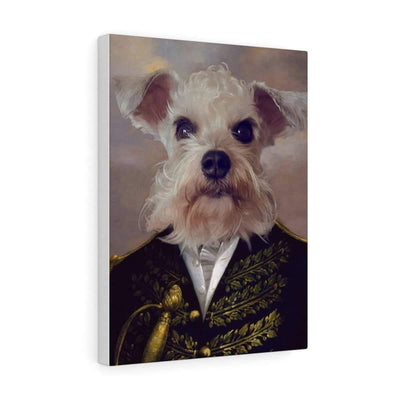 SquishyFacedCrew™ Renaissance 'The Admiral' Personalised Canvas
