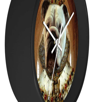 SquishyFacedCrew™ Personalised Renaissance Style Wall clock Featuring Your Pet