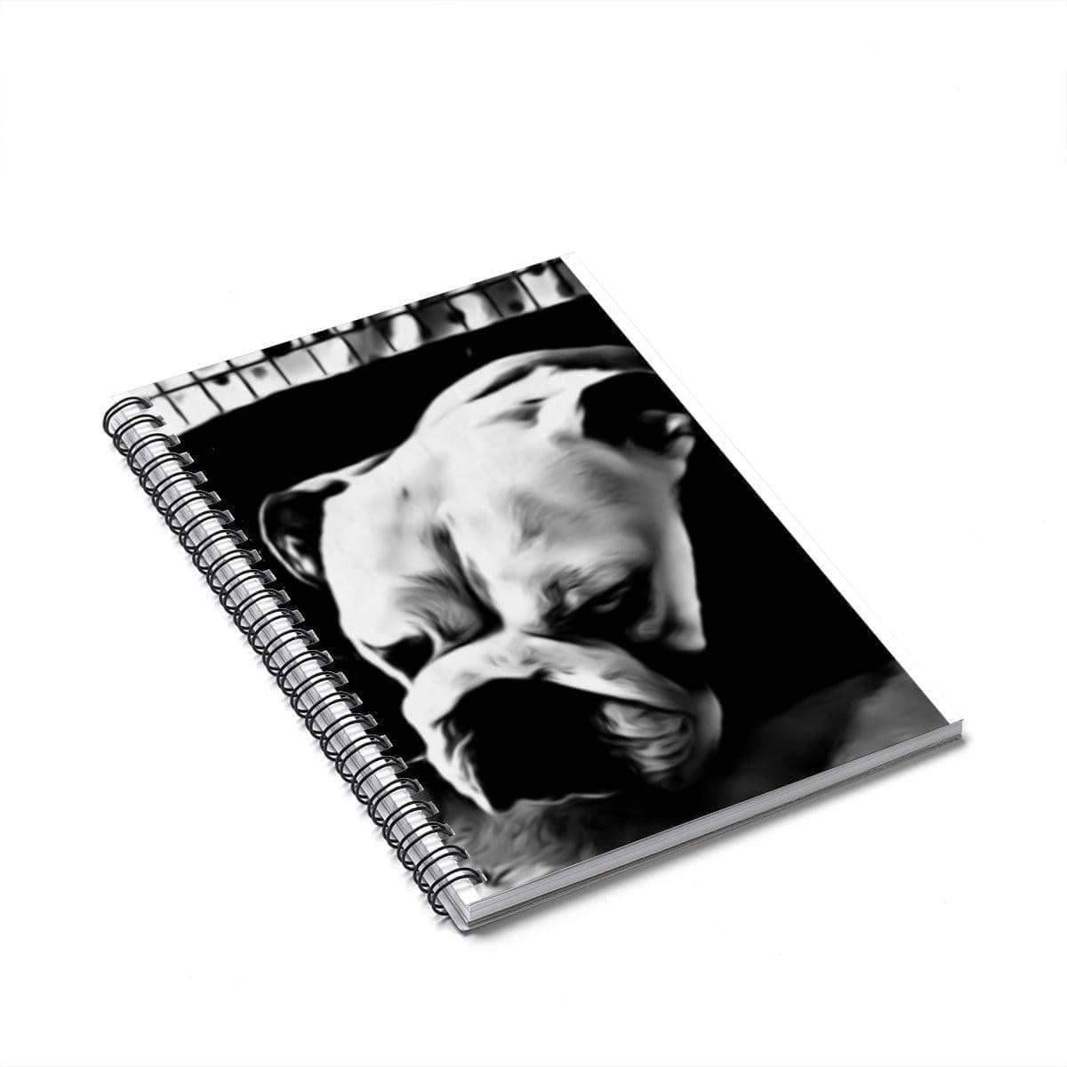 Spiral Notebook - Personalised With Your Pet - SquishyFacedCrew