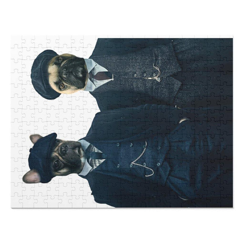 SquishyFacedCrew 'The Detectives' Personalised 252 Piece Puzzle