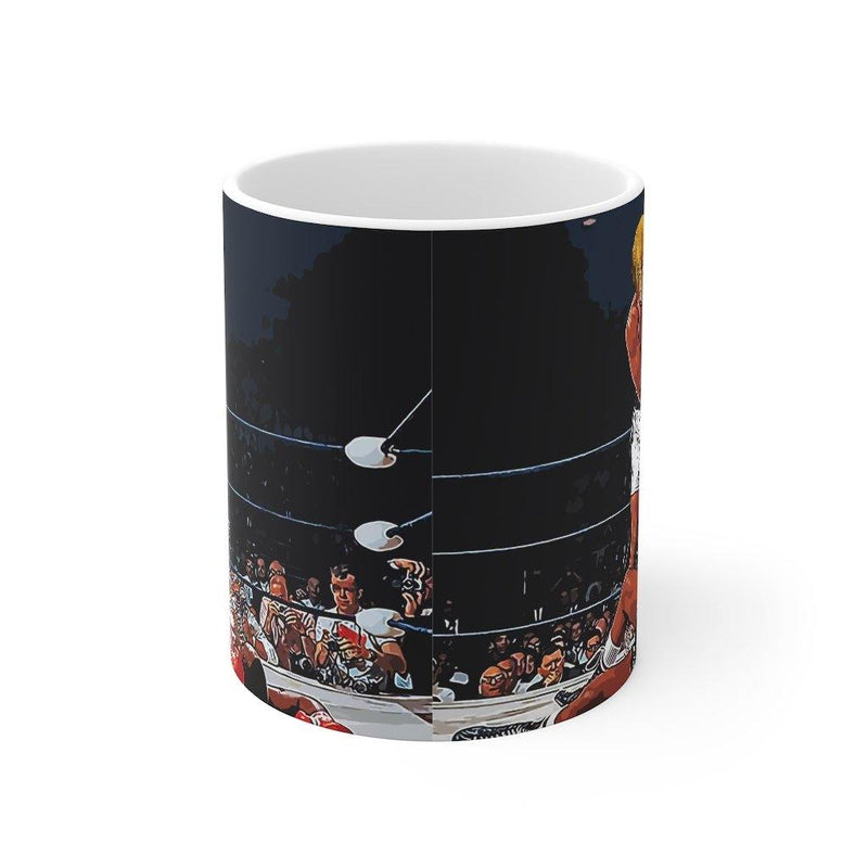 SquishyFacedCrew™ Custom 'THE HEAVYWEIGHT CHAMP!' 11oz Mug