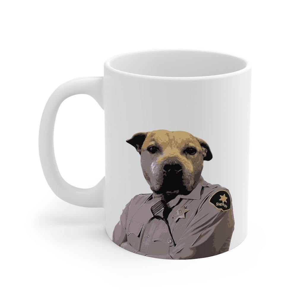 SquishyFacedCrew™ Custom 'THE SHERIFF'' 11oz Mug