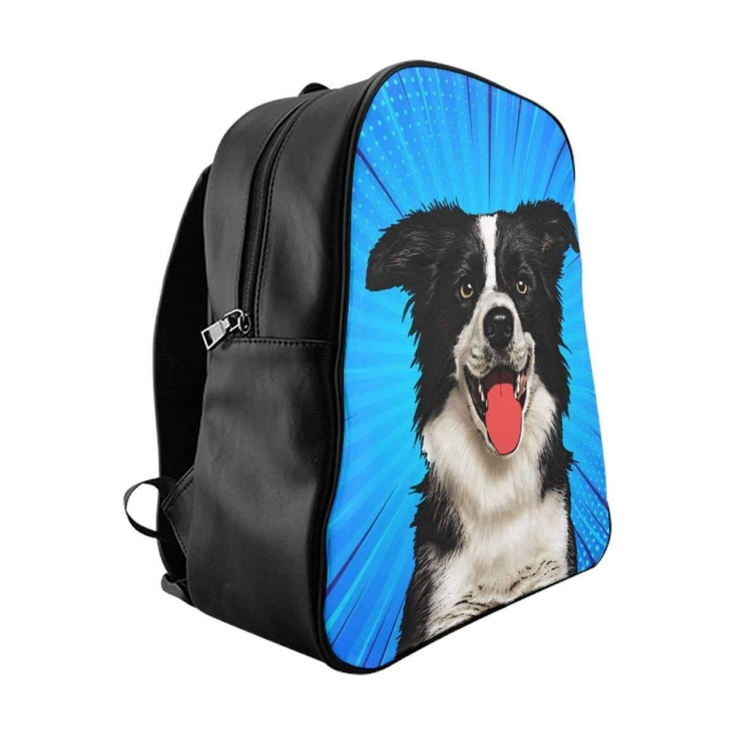 SquishyFacedCrew™ Custom Pet Art Backpack
