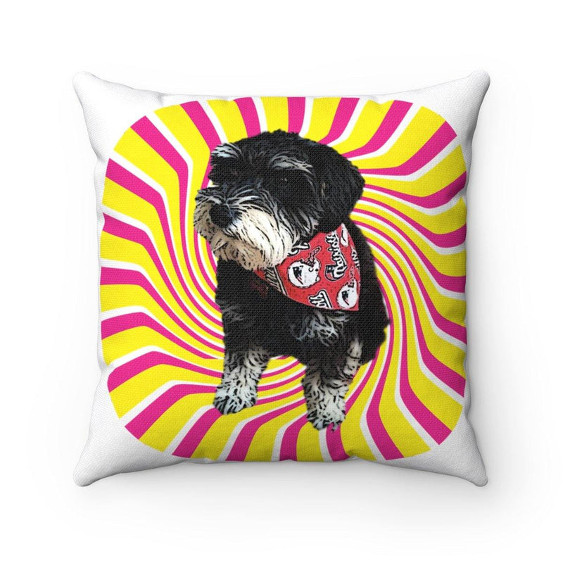 SquishyFacedCrew™ Custom Pop Art Square Pillow