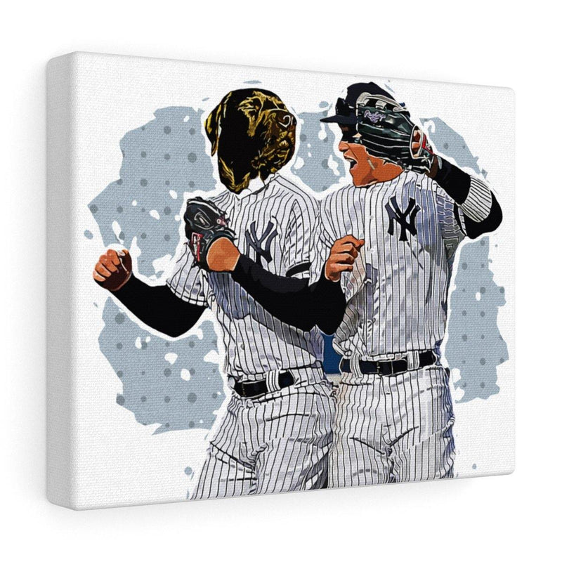 SquishyFacedCrew™ 'THE Yankee!' Custom Pet Canvas - SquishyFacedCrew
