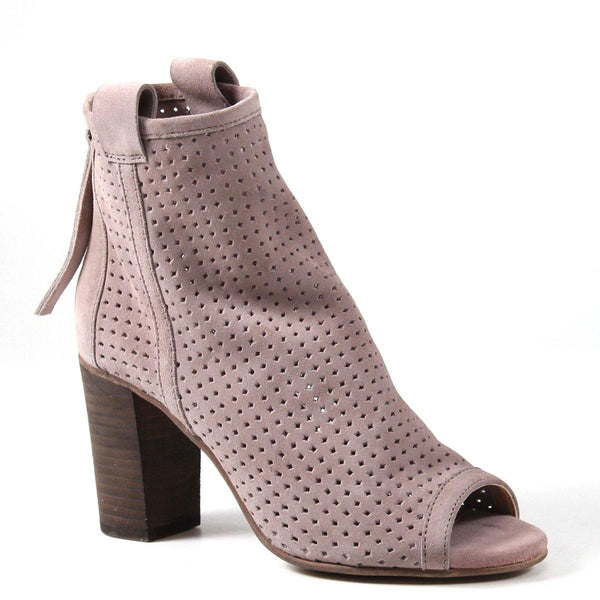 The Gone Home booties by Diba True offer show-stopping style without sacrificing comfort. The intricate perforated upper and open toe are sleek enough for fun outings, while the padded insole and breathable materials keep your feet feeling fresh.