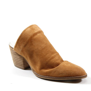 Diba True Over Edge Slip On Suede Mule