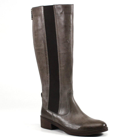 Keep a confident stride in Diba True's CHIN UP tall leather boots. They offer a chic, classic silhouette with convenient side gore, and back zip closure.