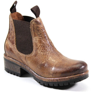 Diba True Women's Say So Ankle Chelsea Boot in Tan Vintage Leather