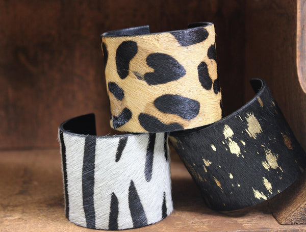 Pony Hair Cuffs Large Accessories by DibaTrue