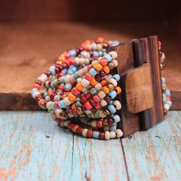 Beaded Bali Queen Bracelet -More Colors Available! Accessories by DibaTrue