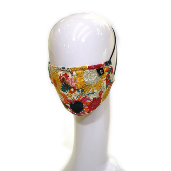 Fashion Face Mask-Floral 5 pack