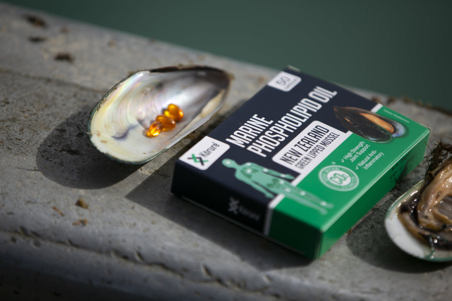 Green Lipped Mussel Oil and Omega-3
