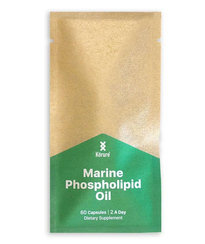Refill Pouch - Marine Phospholipid Oil - 60 Capsules
