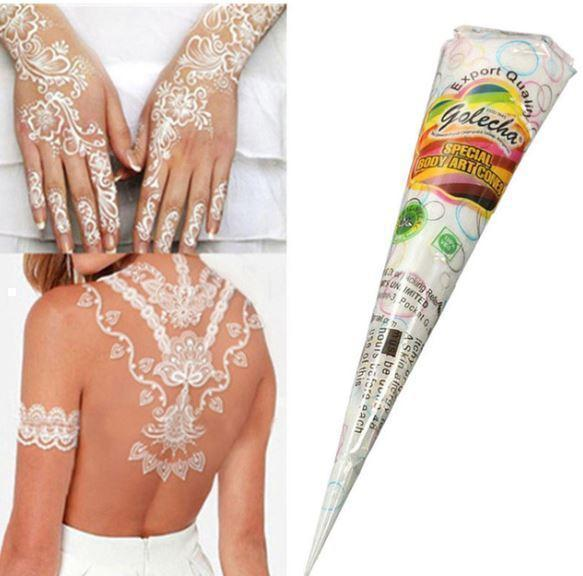 Henna Cone Temporary Tattoo