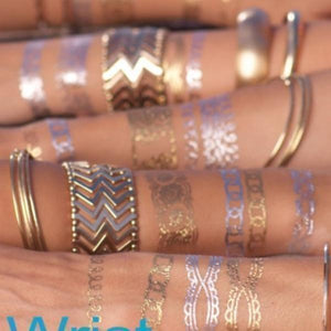 Shimmer Jewelry Tattoos Sticker