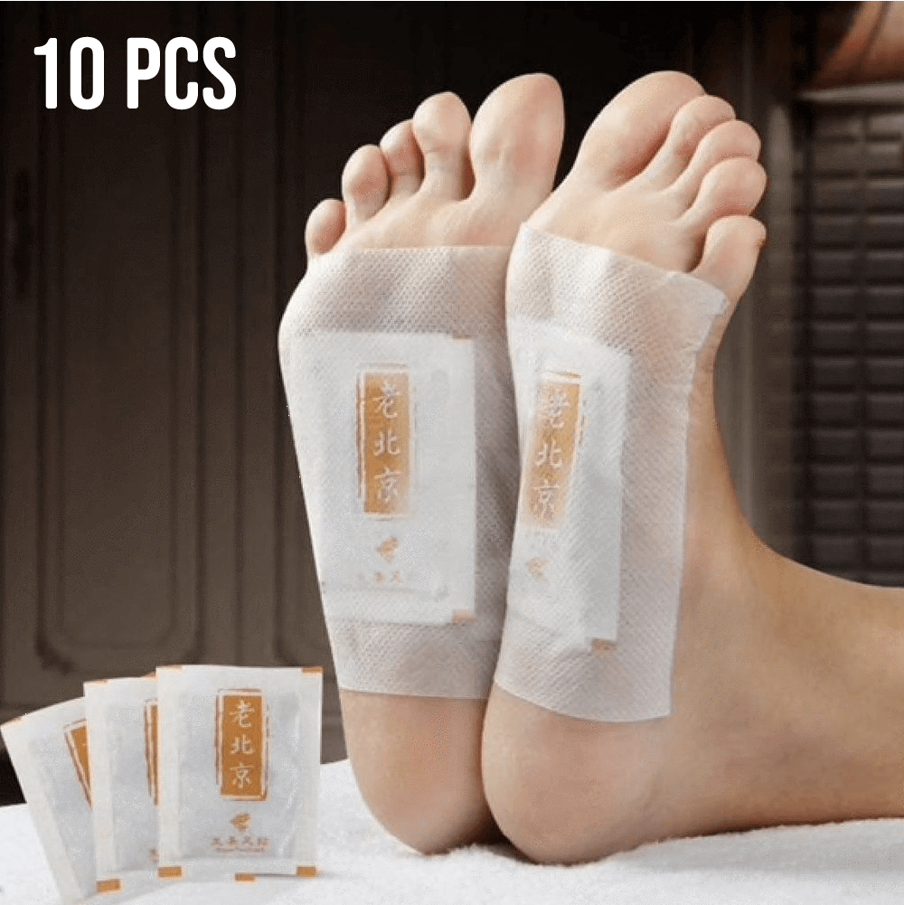 Ginger Detox Foot Pads (Set of 10)