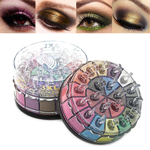 20 Colors Shimmer Eyeshadow Palette