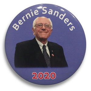 "2020 Bernie Sanders for President (Purple Variant) - 3"" Button"