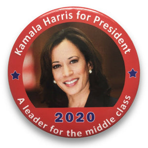 "2020 Kamala Harris ""A Leader for the Middle Class"" - 3"" Button"