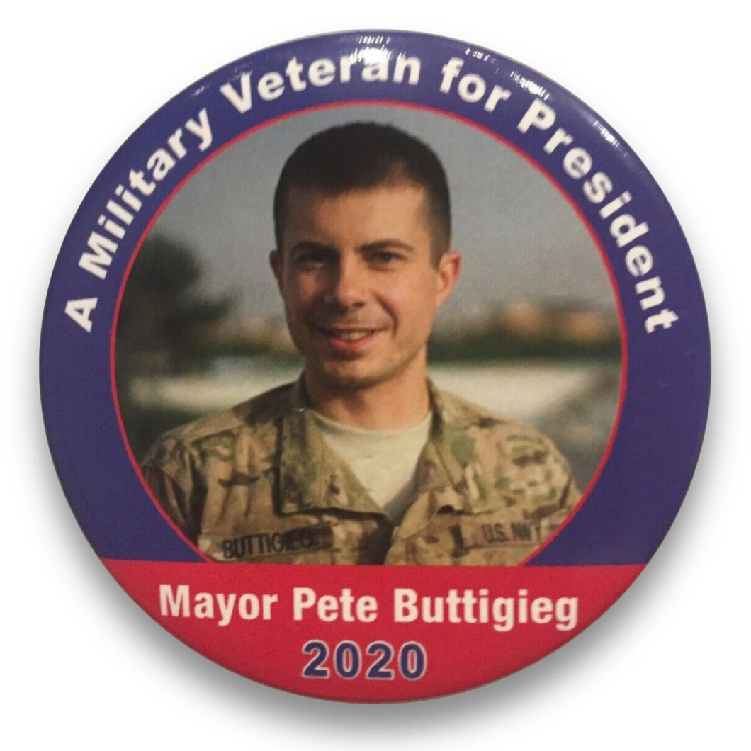2020 Pete Buttigieg for President A Military Veteran for President - 3