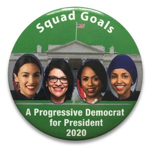 "2020 ""Squad Goals"" - 3"" Button"