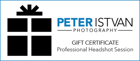 gift certificate for Peter Istvan Photography