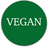 green circle vegan