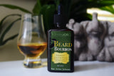 green brown bottle Beard oil bourbon elephant