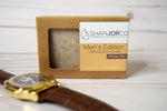 soap box oatmeal watch gold wood brown
