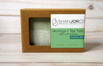 soap bar green Moringa wood